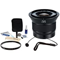 Zeiss Touit 12mm f/2.8 Series for Sony E-mount NEX Cameras - Bundle with VU-Sion 67mm UV Multi-Coated Filter, Flashpoint CapKeeper Lens Cap Leash, Adorama Cleaning Kit for Optics and Cameras