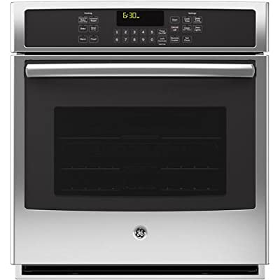 "GE PK7000SFSS Profile 27"" Stainless Steel Electric Single Wall Oven - Convection"
