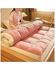 Japanese-Style Folding Mattress, Thicker Floor Mattress, Double Full Size Tatami mat, Portable Sleeping mat, Floor Bed, Mattress Topper