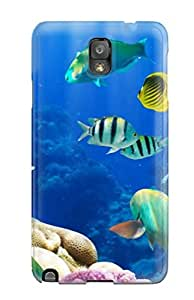 Case Cover Live Fish Computer / Fashionable Case For Galaxy Note 3