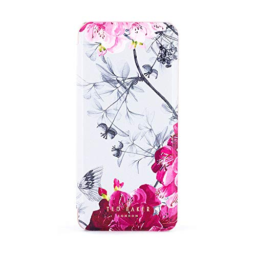 Ted Baker Babylon Fashion Mirror Folio Case for Galaxy S9, Protective Cover for Professional Womens/Girls for Galaxy S9