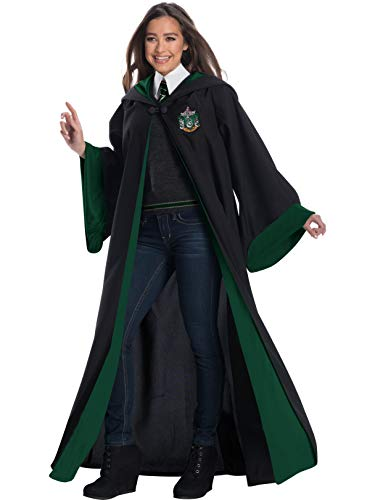 Charades Deluxe Adult Slytherin Student Costume X-Large ()