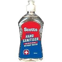 Hand Sanitiser Gel 450ml kills 99.9% Germs Instant Sanitize