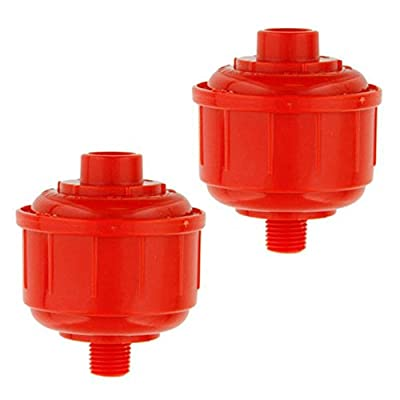 Auntwhale ABS Car Vehicle Disposable HVLP Spray Paint Fluid Water Trap Tool Filter 2Pcs
