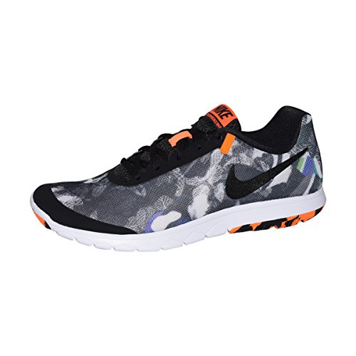 e93e43daf65b Galleon - Nike Mens Flex Experience RN 6 PREM Running Shoes  (Black Black-Total Orange-White