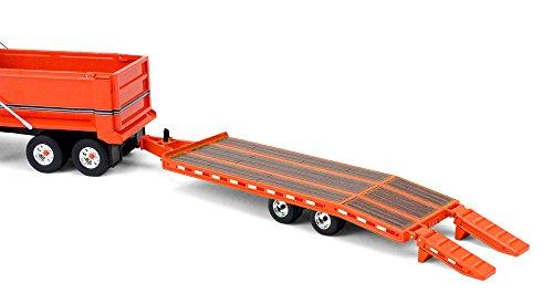 50 Scale Diecast Metal (First Gear 1/50 scale Orange Diecast Collectible Orange Beavertail Trailer (#50-3377))