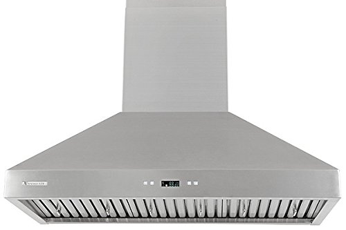 XtremeAir PX03-W36, 36'' wide, LED lights, Baffle Filters W/ Grease Drain Tunnel, 1.0mm Non-Magnetic Stainless Steel Seamless Body, Wall Mount Range Hood by XtremeAIR (Image #3)