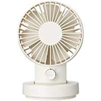 MUJI USB Tabletop Fan [Oscillating Type - White] (Japan Import)