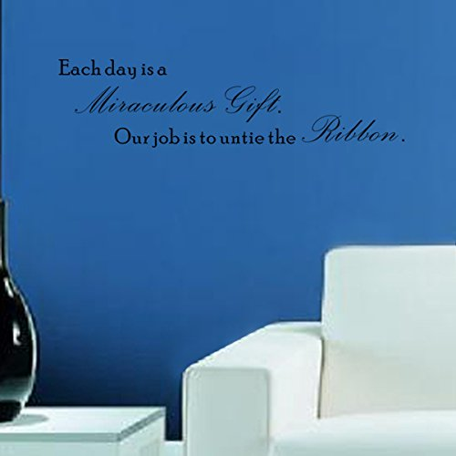 Pop DecorsEach day is a miraculous gift Wall Stickers