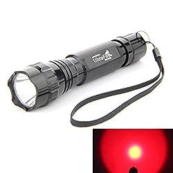 Ultrafire 501b Cree XML T6 LED Flashlight 5 Mode Zoomable Flashlight from Ultrafire