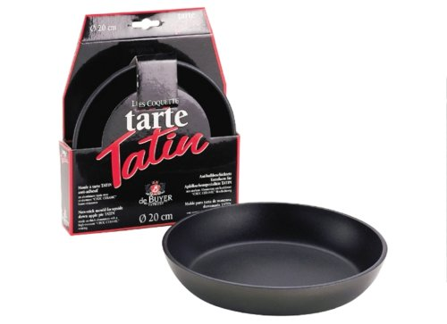 ROUND TATIN MOLD Made of Non-stick Aluminum, O 11-Inch - 6 p.