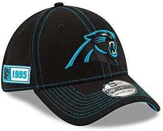 NFL Onfield Sl Rd 39Thirty Cap ~ Carolina Panthers