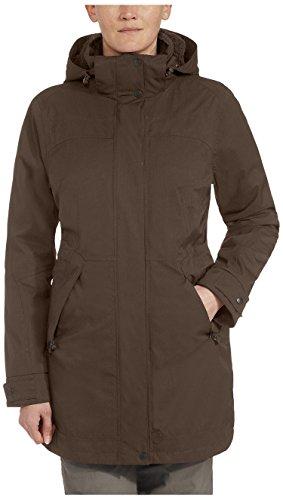 Mujer Invierno Maier Bille Inian Mtex Marrón Sports Abrigo De Para 6n14fwSq