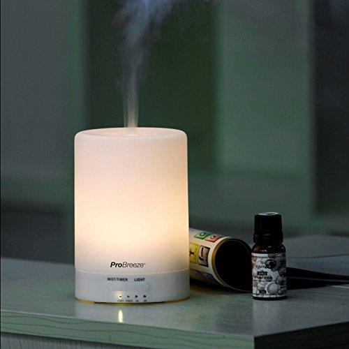 148 opinioni per Pro Breeze, diffusore di aromi e umidificatore a ultrasuoni, con 7 luci LED di