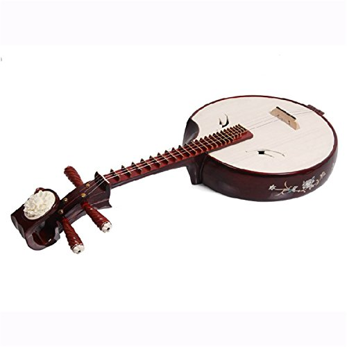National Stringed Instrument Red Sandalwood Zhongruan Suitable for Performance and Beginners by Yihai