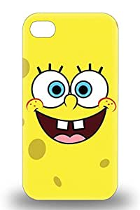 Durable 3D PC Case For The Iphone 4/4s Eco Friendly Retail Packaging American SpongeBob SquarePants ( Custom Picture iPhone 6, iPhone 6 PLUS, iPhone 5, iPhone 5S, iPhone 5C, iPhone 4, iPhone 4S,Galaxy S6,Galaxy S5,Galaxy S4,Galaxy S3,Note 3,iPad Mini-Mini 2,iPad Air )