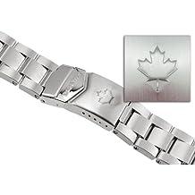 MARATHON WW005005CA Men's Maple Leaf Stainless Steel Watch Band 20mm