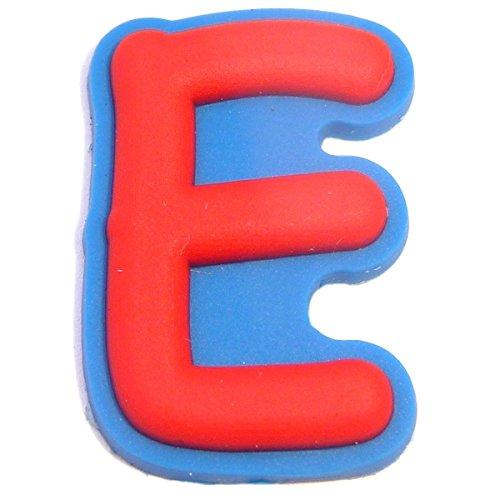Letter E Shoe Rubber Charm Jibbitz Croc Style