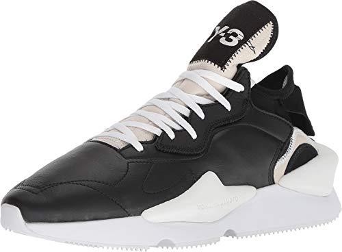 adidas Y-3 by Yohji Yamamoto Unisex Y-3 Kaiwa Black Y-3/Black Y-3/Footwear White 10.5 M UK Medium