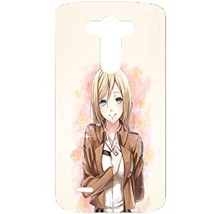 LG G3 Case Attack On Titan 3D Sunshine Girl Generic Phone Case Cover