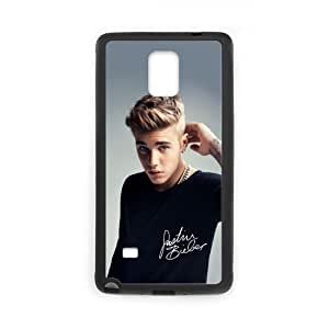 DIY Justin Bieber Custom Case Shell Cover for Samsung Galaxy Note4 (Laser Technology)