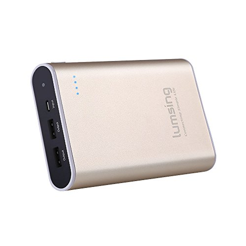 Lumsing 13400mAh Portable Charger - Compact 2-Port Ultra Portable Phone Charger Power...