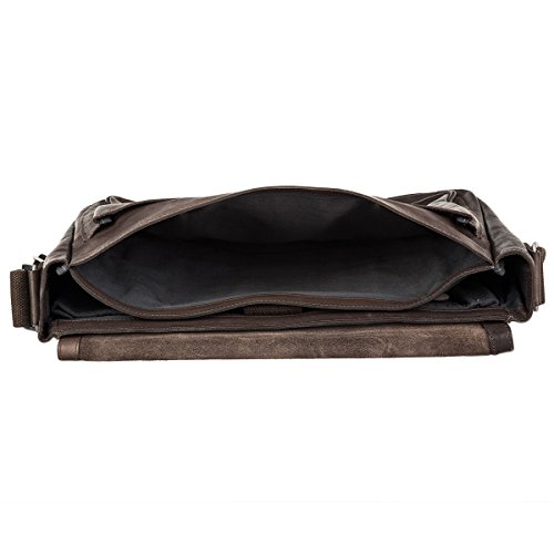 Strellson Upminster Aktentasche BriefBag L 702 dark brown 702 dark brown