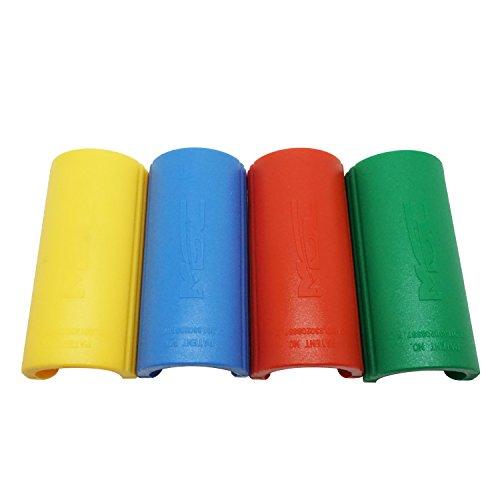 Scuba Choice Round Bimini Boat Clip - 4pc Pack Assorted Colors