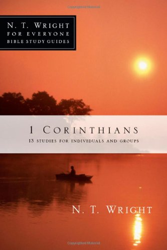 Price comparison product image 1 Corinthians (N.T. Wright for Everyone Bible Study Guides)