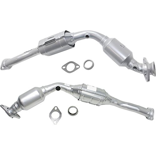 (Catalytic Converter compatible with 2003-20082010-2011 Ford Crown Victoria Set of 2 )