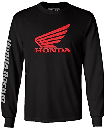 Factory Effex 'HONDA' Long Sleeve T-Shirt (Black, XX-Large) 17-87318