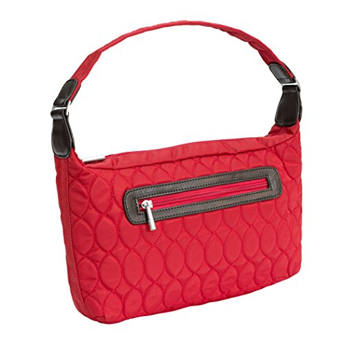 Lug Trotter Mini Handbag, Poppy Red, One Size Cargo Mini Bag