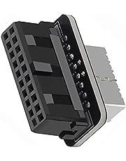 TISHITA USB 3.0 19P/20P naar Type-E Adapter Converter voor Moederbord, Gemakkelijke Toegang tot USB-C En Ondersteuning voor Frontpaneel Header