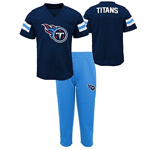 Outerstuff NFL NFL Tennessee Titans Infant Training Camp Short Sleeve Top & Pant Set Dark Navy, 18 Months