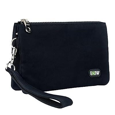 EOTW Casual Wristlet Handbag Coin Purse Change Pouch Zipper Clutch Wallet Bag Money Pocket Secure Holder