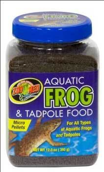 - Zoo Med Aquatic Frog & Newt Diet 9oz