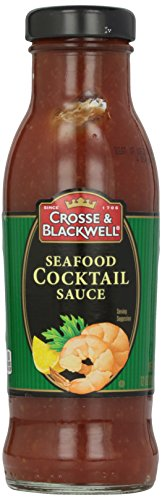 Crosse & Blackwell Seafood Cocktail Sauce, 12 oz (Best Shrimp Cocktail Sauce Brand)