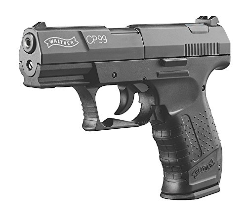 RWS Walther Air Pistol Single/Double .177 Pellet CO2 Black (Cp99 Walther Co2)