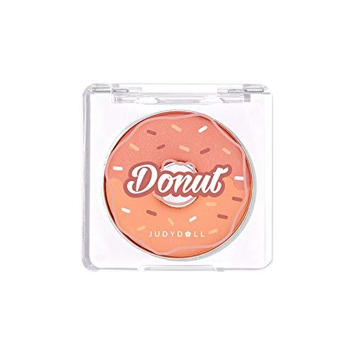 1 PC Judydoll Donut Picnic Pearl Shimmer Blusher Highlighter Eyeshadow Contour Professional Cosmetics Glow Mermaid…