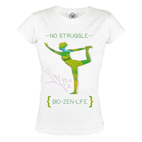 Rule Out Women T-Shirt.Yoga. No Struggle. Bio. Zen. Life. Gym. Training. Fitness. Sportswear. Casual