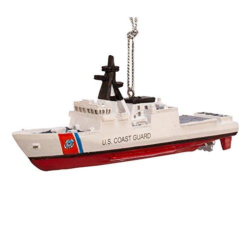 Kurt Adler Ship Coast Guard Ornament