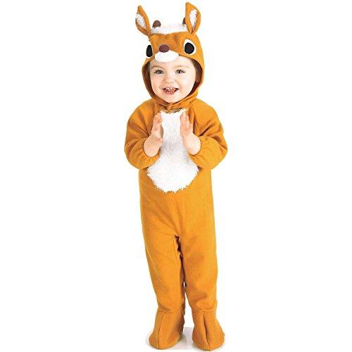 [Reindeer Romper Costume - Infant] (Gothic Maiden Costumes)