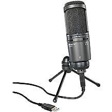 Audio-Technica AT2020USB+ Cardioid Condenser USB Microphone (Renewed)