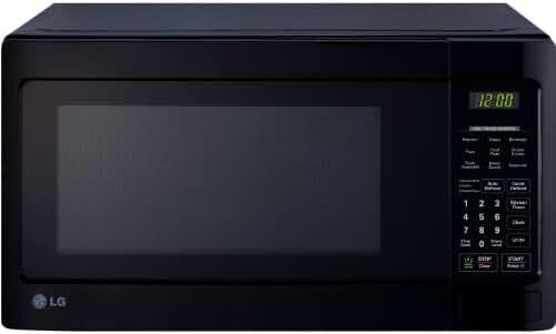 LG LCS1112SB Countertop Microwave Oven, 1000-watt, Black