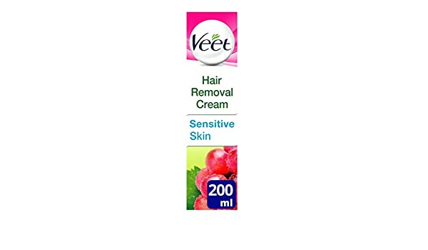 Veet Naturals Hair Removal Cream for Normal Skin 200ml by Veet: Amazon.es: Salud y cuidado personal