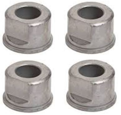 ((4) Front Wheel Bushings/Flange Bearings Replaces M123811, GX10059 - Fits John Deere: D140, D110, D105, D130, L120, L110, L130, LA115, LA105, L100, X125, LA145, D100, D160, L111, L118, & More)