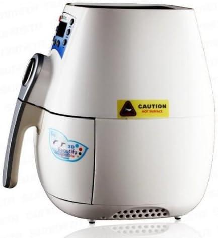 Multifuncional Gowe 3d Mini máquina de prensa térmica para máquina aspiradora de sublimación y tazas y frenos de funda tipo libro con colores blanco: Amazon.es: Hogar