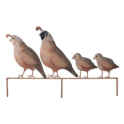 Regal Art & Gift 5339 Quail Family yd Art, 1 Size, (Southwest Metal Art)