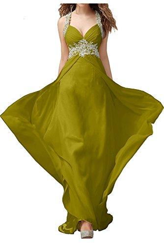 Braut mit Abendkleider Ballkleider Spitze La Marie Lang Damen Jugendweihe Kleider Festlichkleider Gruen Olive 0A55ZOwqx