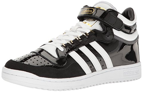 - adidas Originals Men's Shoes | Concord II Mid Fashion Sneakers, Black/White/Metallic/Gold, (7.5 M US)